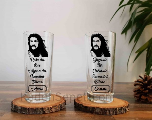 Barış manço rakı bardağı
