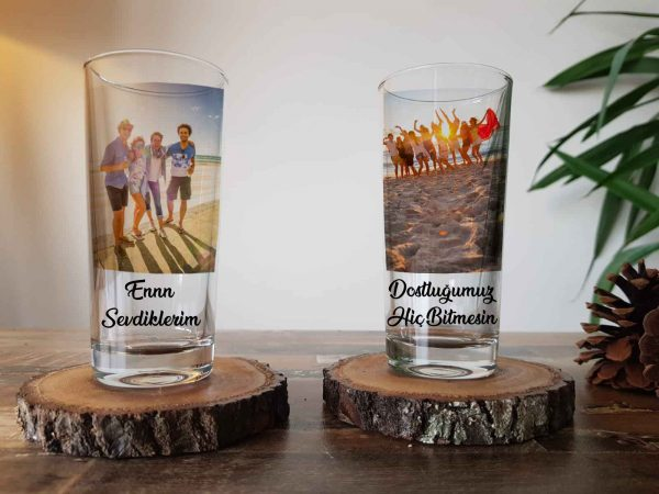 Kişiye Özel Rakı Bardağı Kişiye Özel Resimli İsimli Sözlü Rakı Kadehi