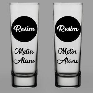 Kişiye Özel Votka Bardağı